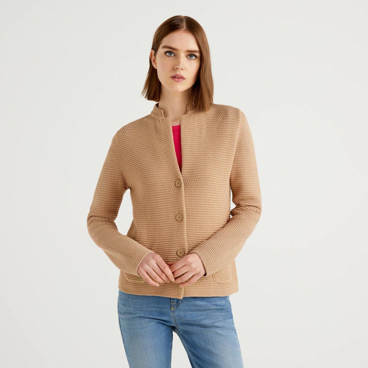 Knit jacket
