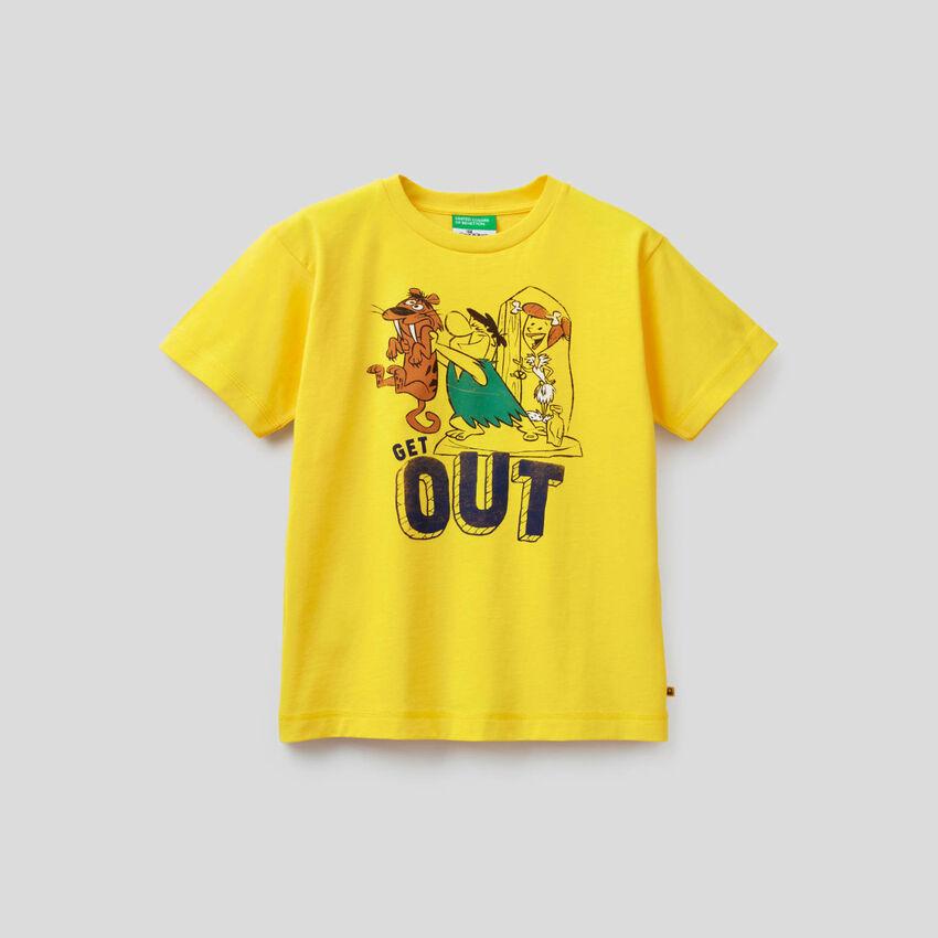 Organic cotton Flintstones t-shirt