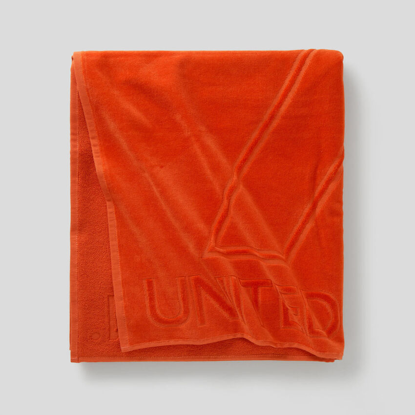 Logoed beach towel
