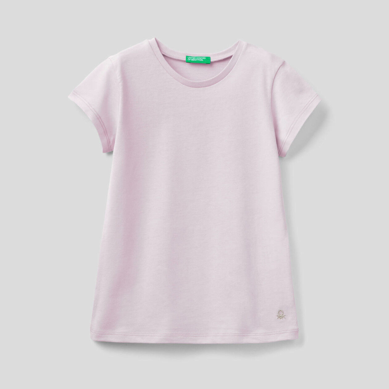 T-shirt in pure organic cotton